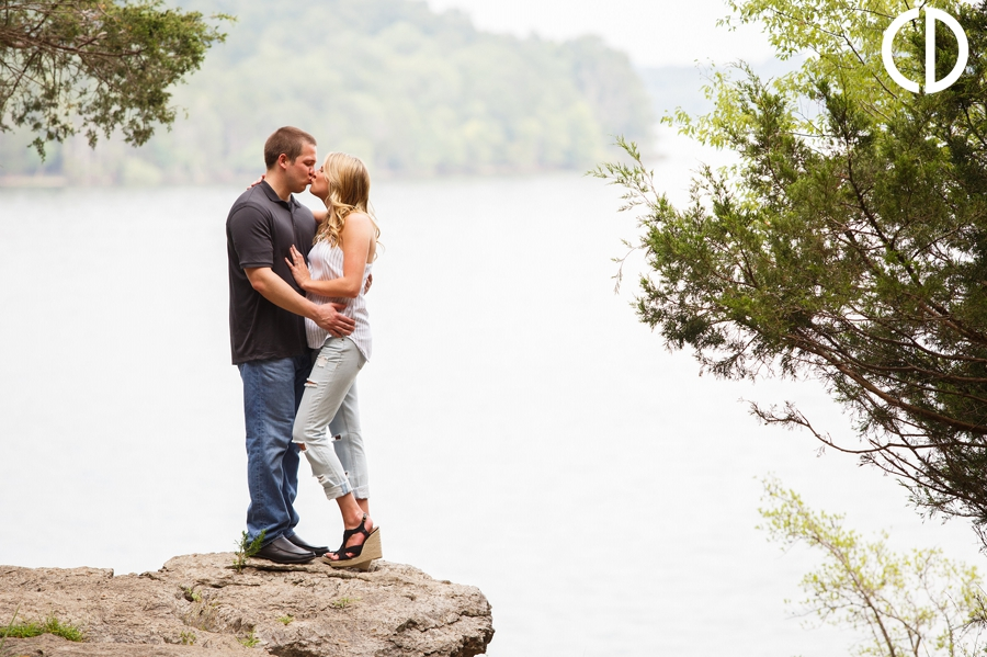 Long Hunter State Park Engagement Photos